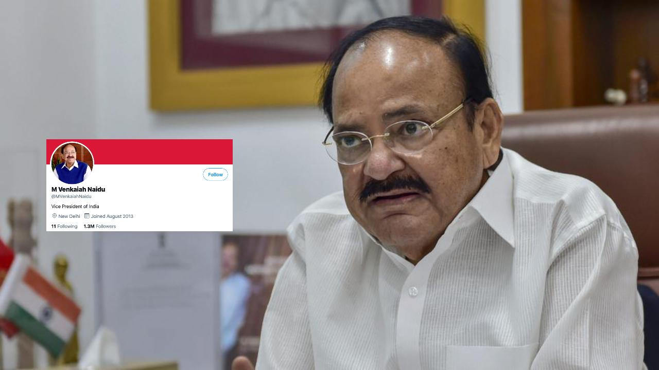 Twitter Removes Blue Tick From Vice President Venkaiah Naidu's Personal Account