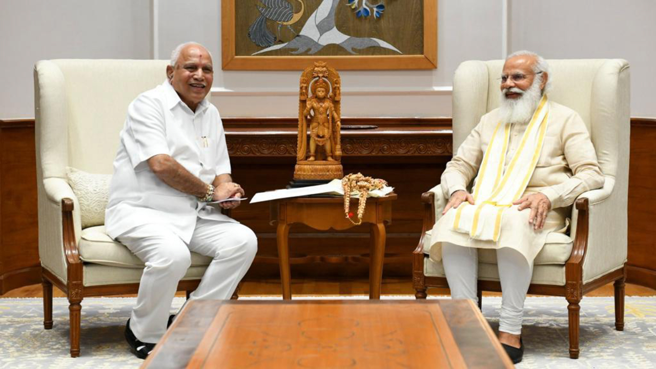 Yediyurappa Offers to Quit as Karnataka CM Citing Age, Health: Sources