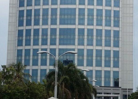 Бизнес-центр в индийском городе Бангалор