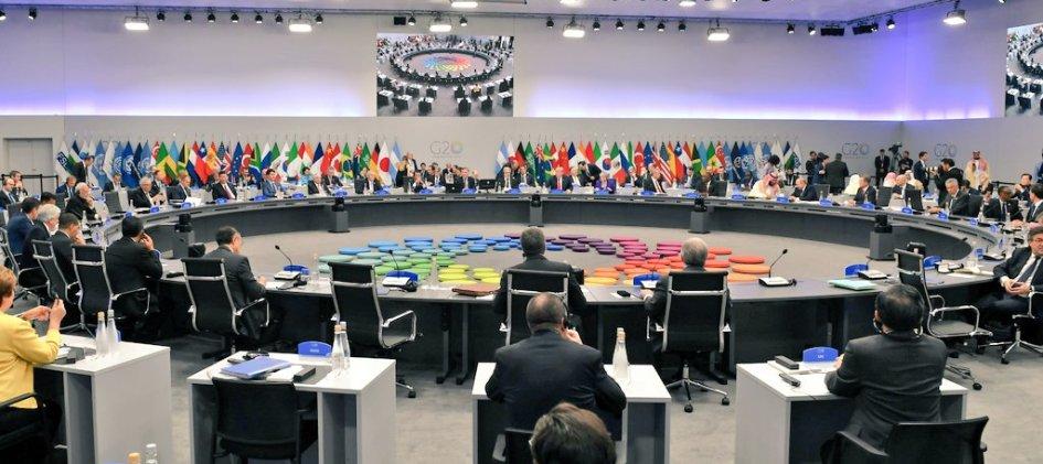 Индия на саммите большой двадцатки