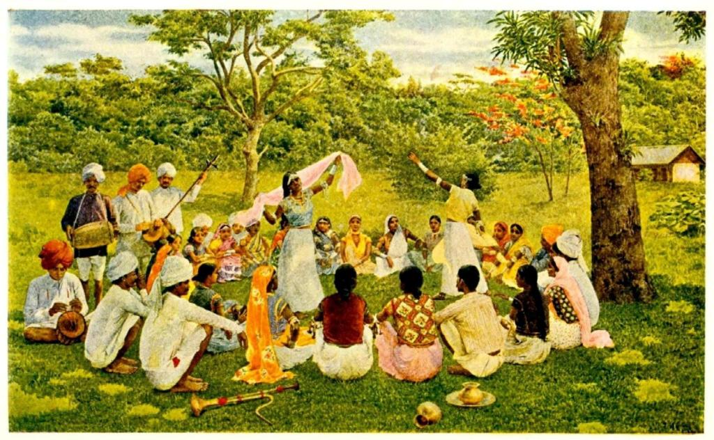 East Indian Coolies in Trinidad