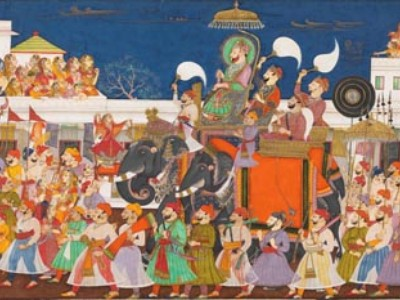 Maharajas Meet Contemporary Art