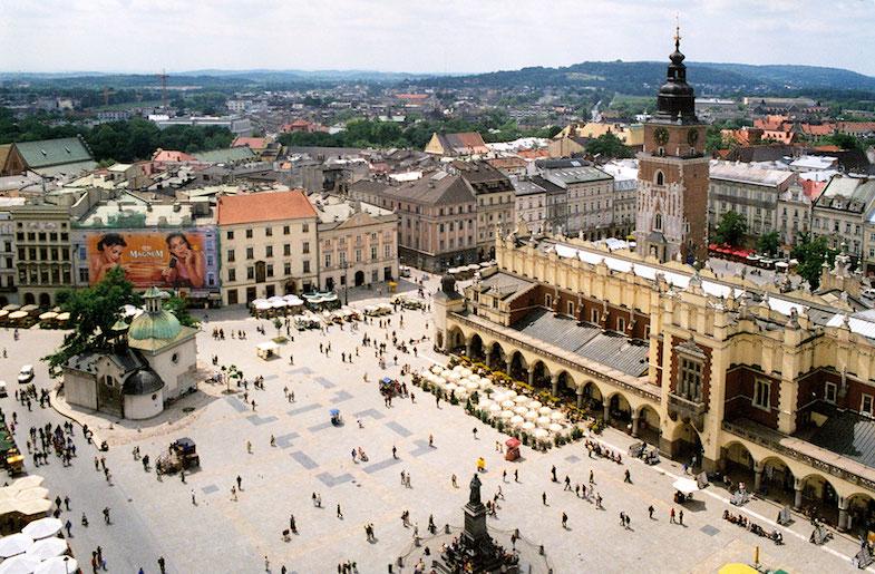 Levitating Yogini in Krakow
