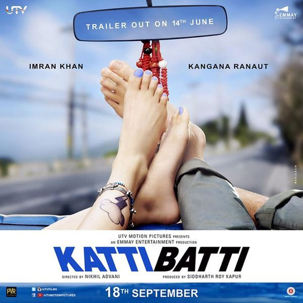 Katti Batti Trailer Released Starring Imran Khan & Kangana Ranaut