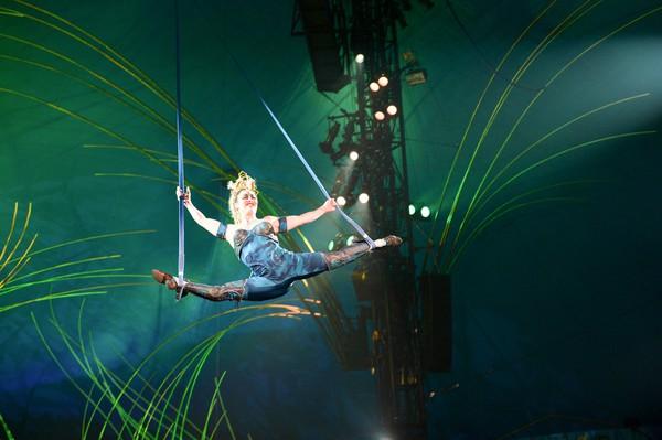 Artistry and athleticism combine in Cirque du Soleil's 'Amaluna'