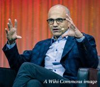 Microsoftie Nadella