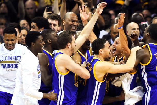Golden Warriors Win NBA Finals 2015!!