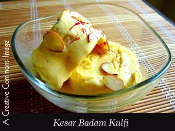 Creamy Happiness—Kesar Badam Kulfi