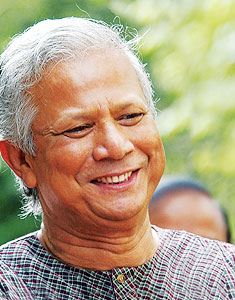 Nobel for Microcredit