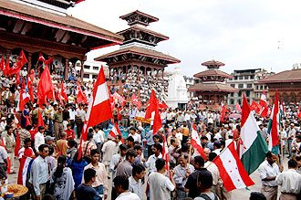 A People's Movement in Nepal