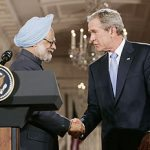 Manmohan Singh in Washington