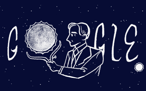 Today's Google Doodle honors Indian-American Scientist