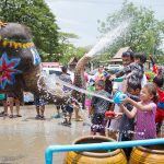 Thailand Plays Holi with Talcum Powder