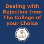 Dealing with Rejection from your Top College Choice