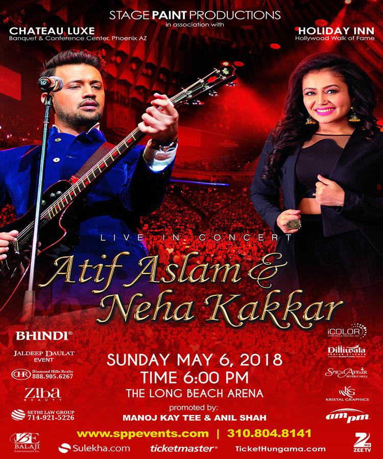 Atif Aslam & Neha Kakkar: Live Music Concert