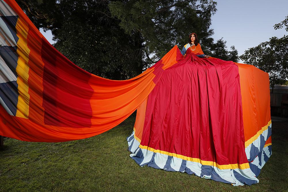 Sari Dress Tent