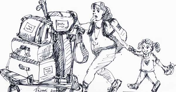Baggage: The Fine Art of Overpacking!