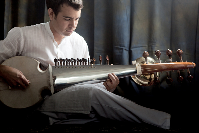 Morning Raagas on the Sarod  by Alam Khan