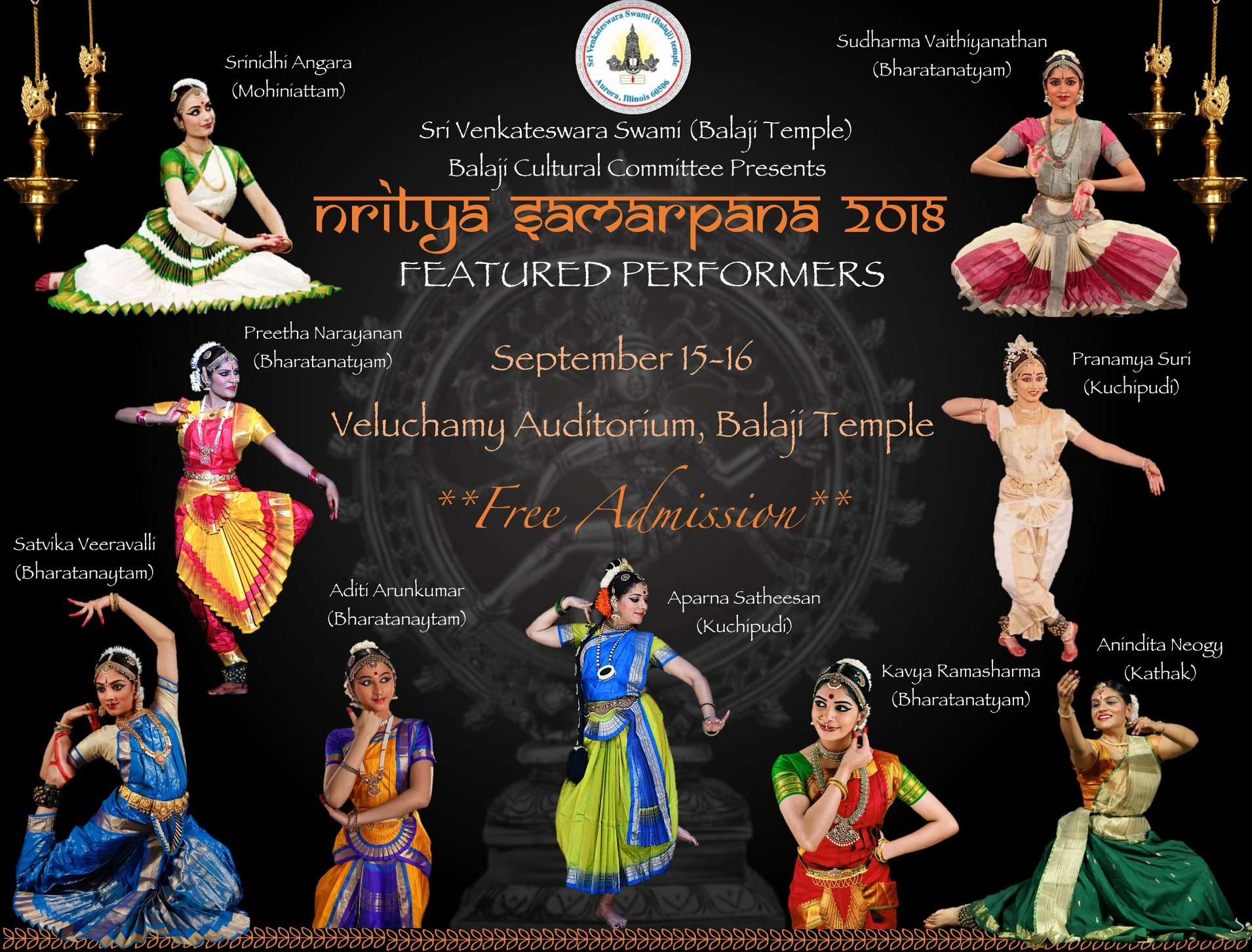 Nritya Samarpana Dance Festival