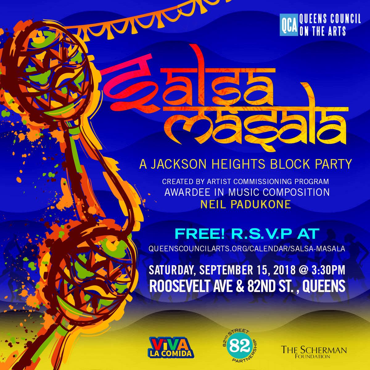 Salsa Masala, an Indo-Latin Fusion