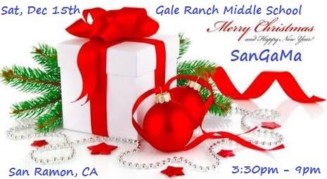 SaReGaMa Christmas & New Year Celebration