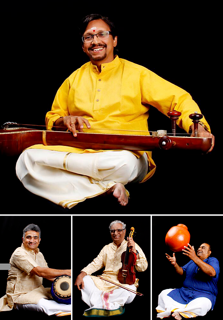 Carnatic Concert by R. Suryaprakash