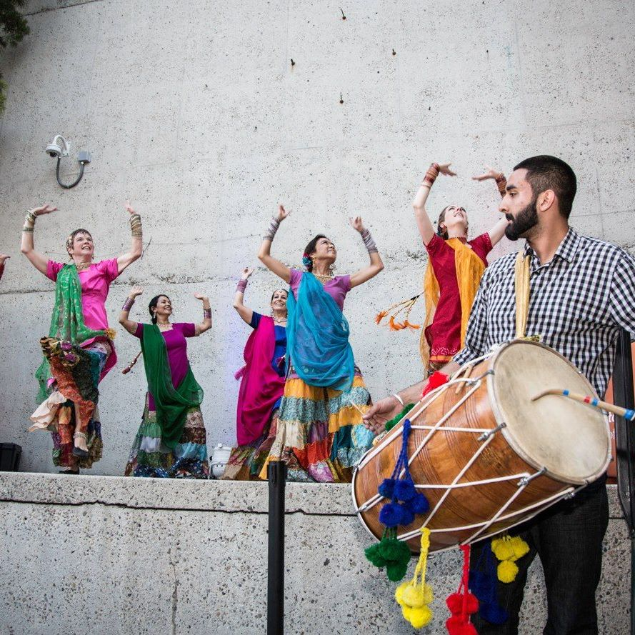 Non Stop Bhangra at Oakland Museum
