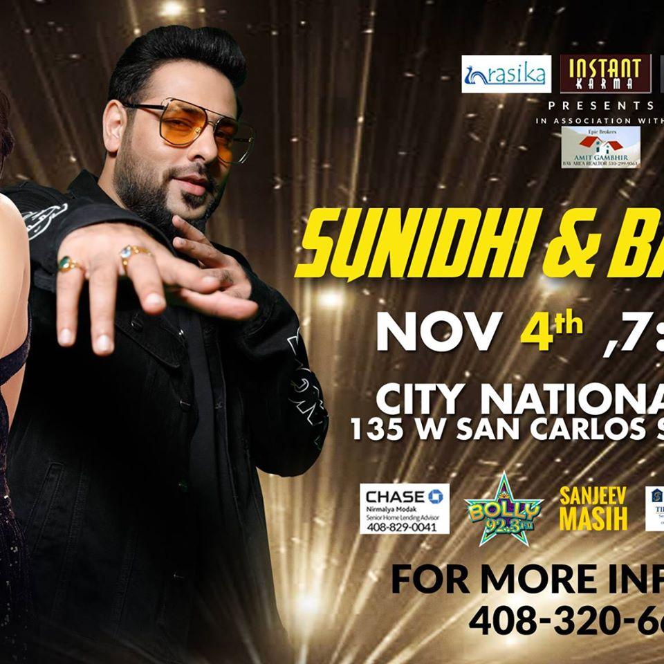 Sunidhi Chauhan & Badshah Live in Concert