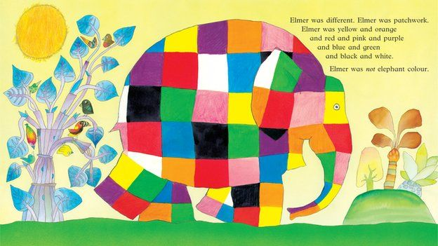A Patchwork Elephant And Life Lessons