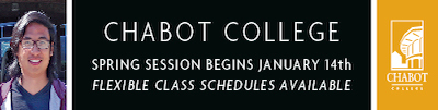 Chabot College: Spring Session Begins January 14th
