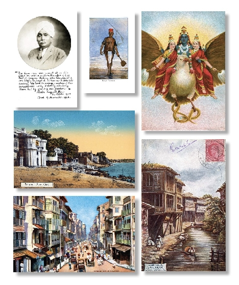 Paper Jewels: Postcards from the Raj by Omar Khan