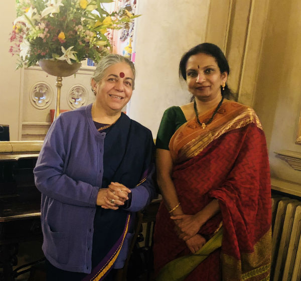 In Conversation With Dr. Vandana Shiva