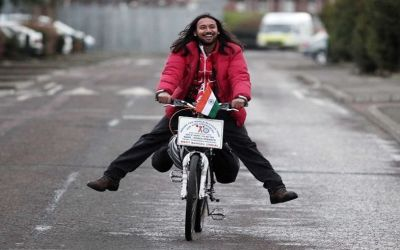 Cycling Around The World: Somen Debnath