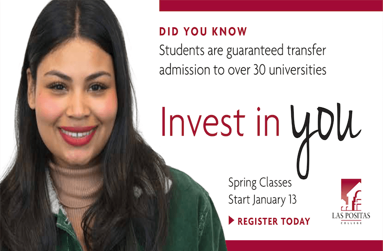 Las Positas College: Invest in You!