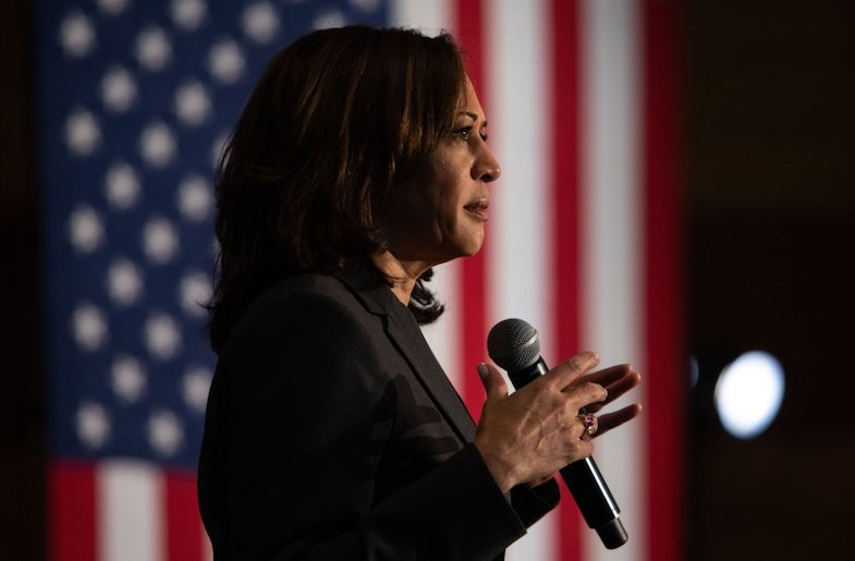 Kamala Harris Endorses Former Rival Joe Biden