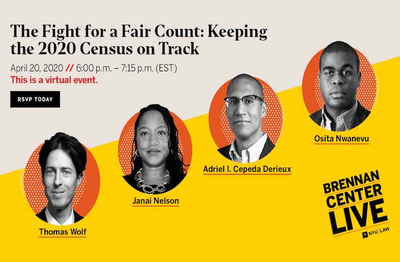 Keeping Track of 2020 Census