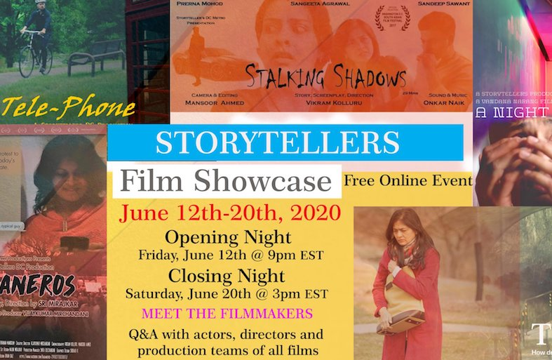 Storytellers: DC Desi Film Festival Kicks Off!