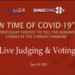 In Times Of Covid-19 Video Contest