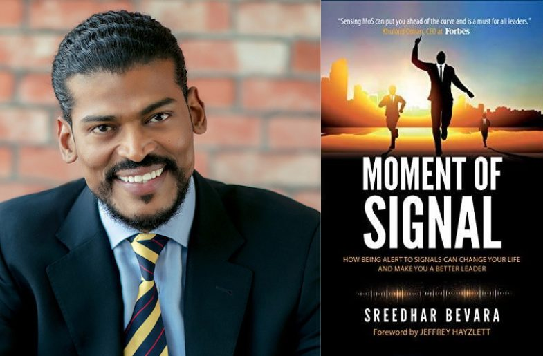 'Keep Finding Your Signals' Says Sreedhar Bevara In His Book