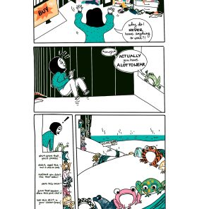 Sonali Bhasin's Comics for ReFashion Hub's Initiative