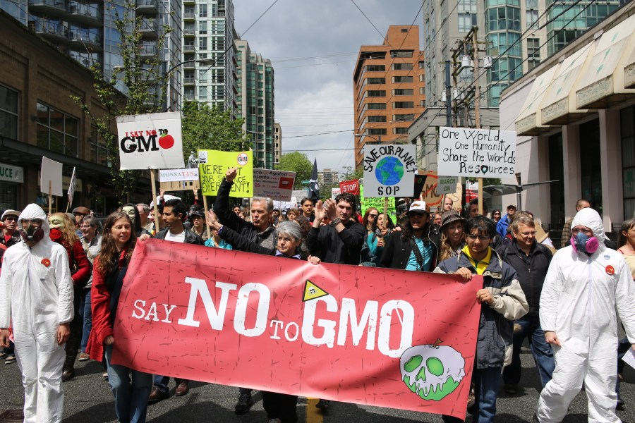 March Against Monsanto in Vancouver, Canada (Image by Rosalee Yagihara under Creative Commons License)