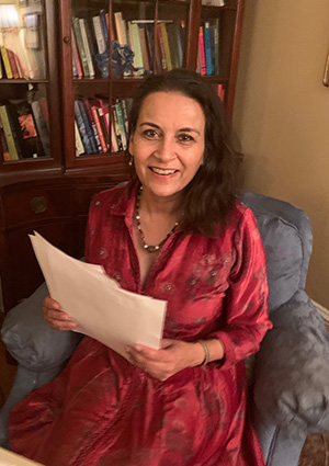 Author, Sujata Massey (Image from her website)