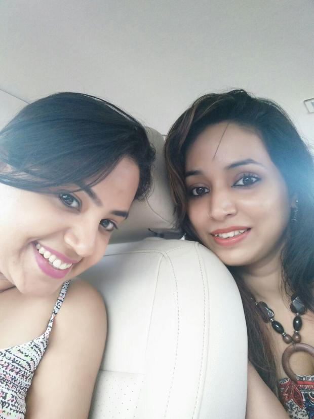 Neha Chawla and Kajal Mishra