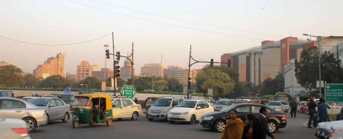 Connaught place, Delhi. Travel India by road