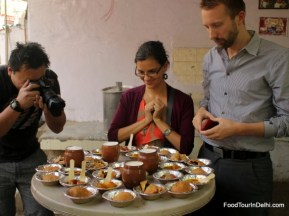 Food tour in Delhi