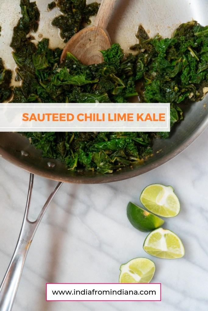 Sautéed Chili Lime Kale