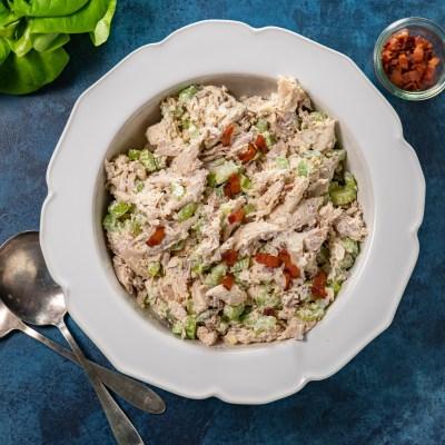 Parmesan Bacon Chicken Salad