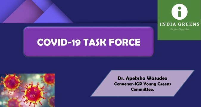 PURPOSE OF THE COVID-19 TASK FORCE