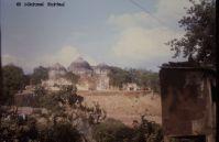 Babri mosque in Ayodhya (Uttar Pradesh, India)