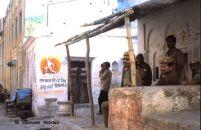 Security forces in Ayodhya (Uttar Pradesh, India)